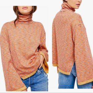 Free People Oversized Lounge Boho Sweater Women's Small New